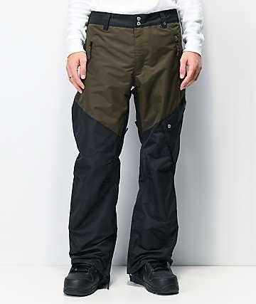 Aperture Outback 10K pantalones de snowboard negros y grises
