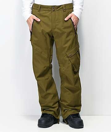 Aperture Outback 10K pantalones de snowboard verdes