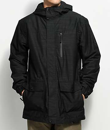 Aperture Secret Chute Black 10K Snowboard Jacket