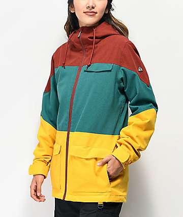 Aperture Snowbirdie Colorblock 10K chaqueta de snowboard