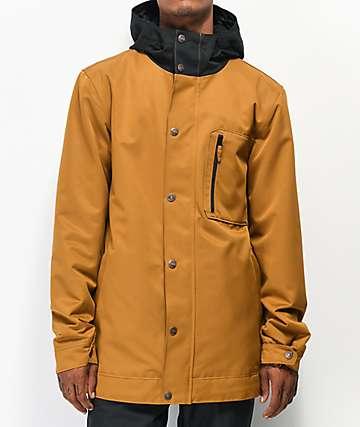 Aperture Stratus 10K chaqueta de snowboard de color tabaco