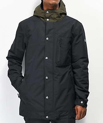Aperture Stratus 10K chaqueta de snowboard negra