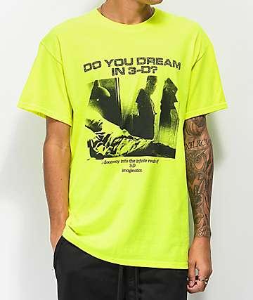 Aras 3D Dreams Green T-Shirt