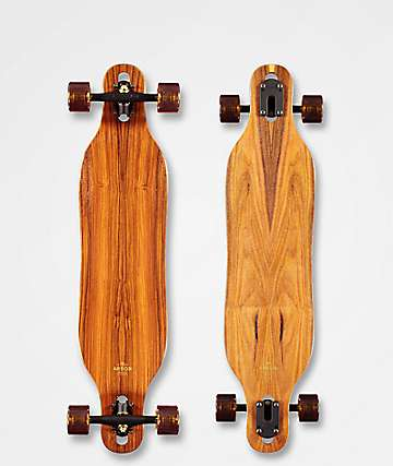 """Arbor Axis Flagship 2019 37"""" Drop Through Longboard Complete"""