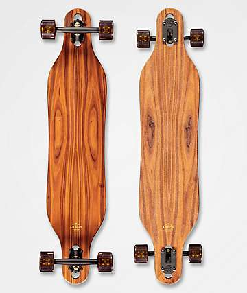 """Arbor Axis Flagship 2019 40"""" Drop Through Longboard Complete"""