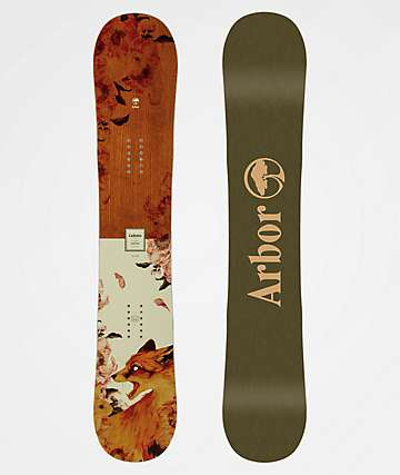 Arbor Cadence Camber Snowboard Women's 2020