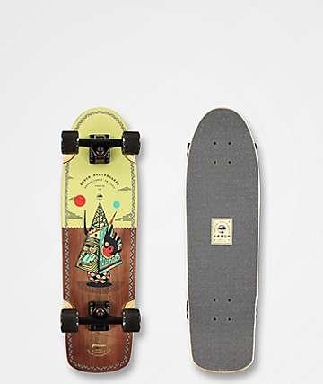 """Arbor Pilsner Artist 29"""" Cruiser Complete Skateboard"""