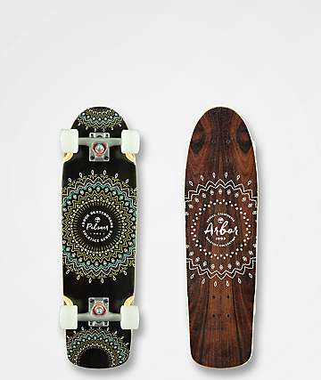 """Arbor Pilsner Solstice 29"""" Cruiser Complete Skateboard"""