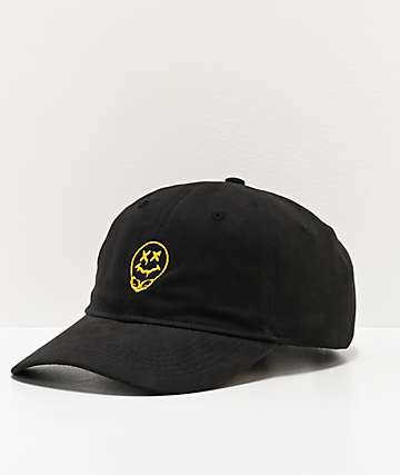Artist Collective A51 Drip Black Strapback Hat