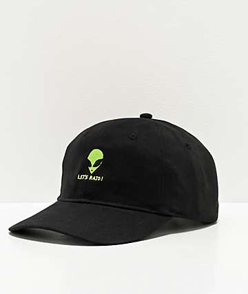 Artist Collective A51 Let's Raid Black Strapback Hat
