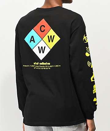 Artist Collective ACWW Hazard 51 Black Long Sleeve T-Shirt