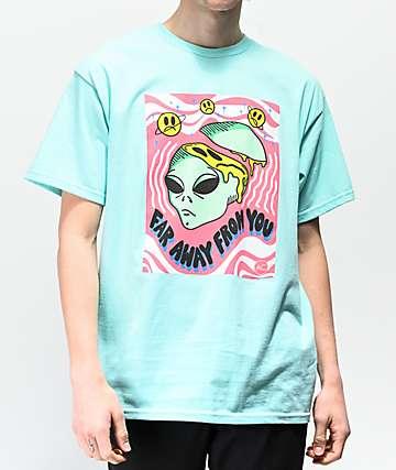 Artist Collective Far Away Teal T-Shirt