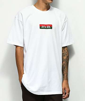 Artist Collective G Lit White T-Shirt