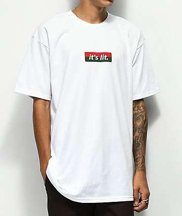 Artist Collective G Lit camiseta blanca