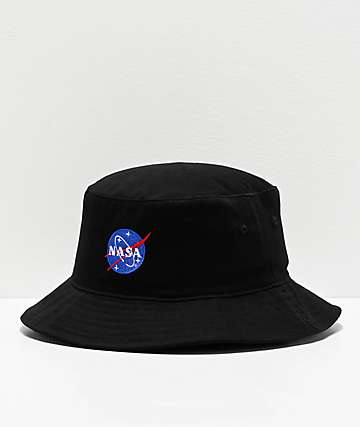 Artist Collective NASA Logo Black Bucket Hat