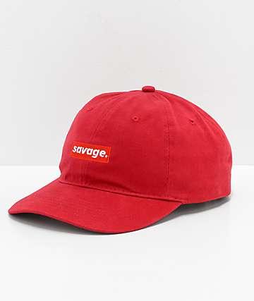 Artist Collective Savage Red Strapback Hat