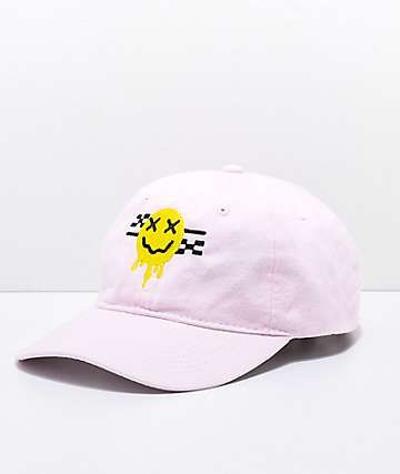 Artist Collective Smile Melt Pink Baseball Hat