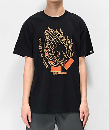 Artist Collective Stress Black & Orange T-Shirt