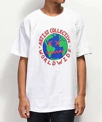 Artist Collective Worldwide White T-Shirt