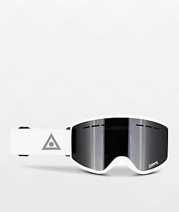 Ashbury Mirage White Snowboard Goggles