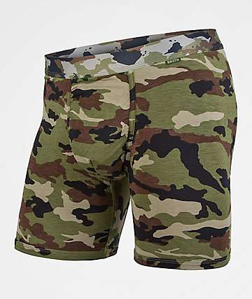 BN3TH Camo Green Boxer Briefs