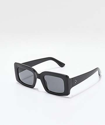 Babetown Black Square Lense Sunglasses