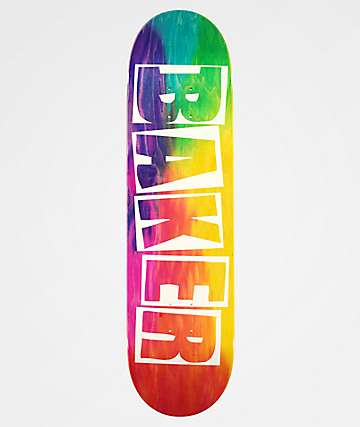 "Baker Brand Logo Rainbow 8.25"" Skateboard Deck"
