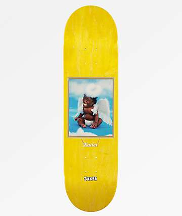 "Baker Kader Baby Angel 8.25"" Skateboard Deck"