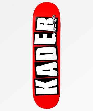 "Baker Kader Logo 8.5"" Skateboard Deck"