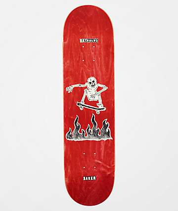 "Baker Reynolds Cremation 8.0"" Skateboard Deck"
