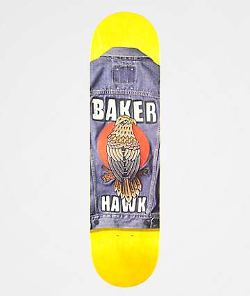 "Baker Riley Stitched 8.0"" Skateboard Deck"