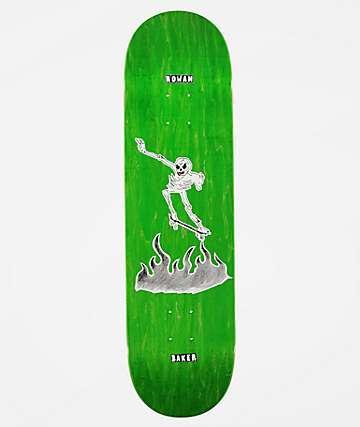 "Baker Rowan Cremation 8.5"" Skateboard Deck"