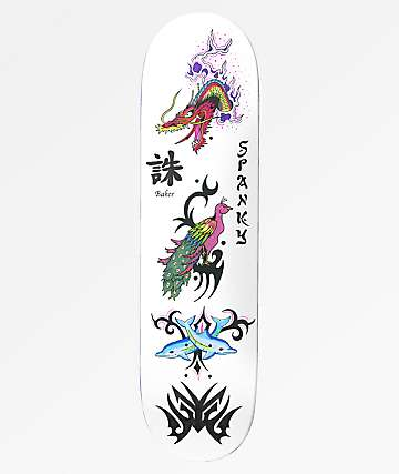 "Baker Spanky Bad Decision 8.0"" Skateboard Deck"