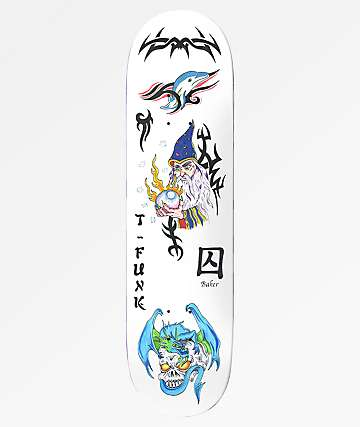"Baker T-Funk Bad Decision 8.5"" Skateboard Deck"