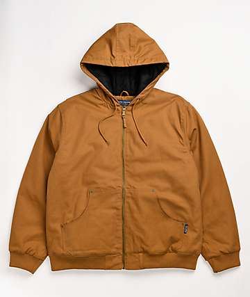 9 Crowns Men/'s Jasper Windbreaker Rain Lightweight Hooded Jacket