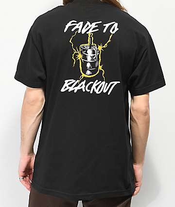 Beer Savage Fade To Black T-Shirt