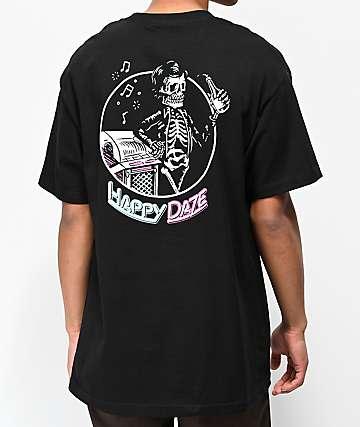 Beer Savage Happy Daze Black T-Shirt