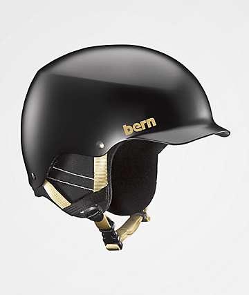 Bern Muse casco de snowboard negro