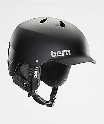 Bern Watts EPS Audio casco de snowboard negro mate