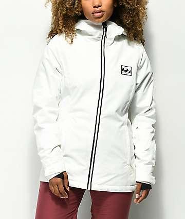 Billabong Sula Solid Snow White 10K Snowboard Jacket