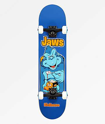 "Birdhouse Jaws Old School 7.5"" Skateboard Complete"