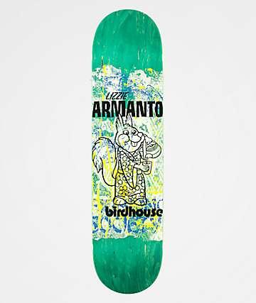 """Birdhouse Lizzie Armanto Show Print 7.75"""" Skateboard Deck"""