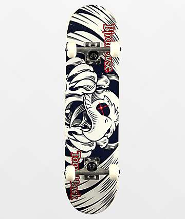 "Birdhouse Tony Hawk Falcon Mini 7.38"" Skateboard Complete"
