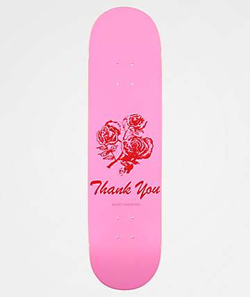 "Blackout Thank You Have A Nice Day 8.25""Skateboard Deck"