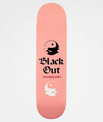 "Blackout Yin And Yang 8.25"" Skateboard Deck"