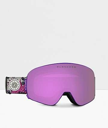 Blenders JJ Forest Purple Snowboard Goggles