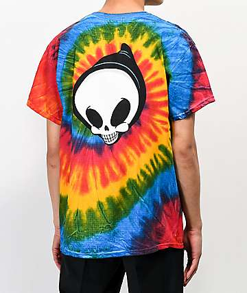 Blind Reaper Head Tie Dye T-Shirt