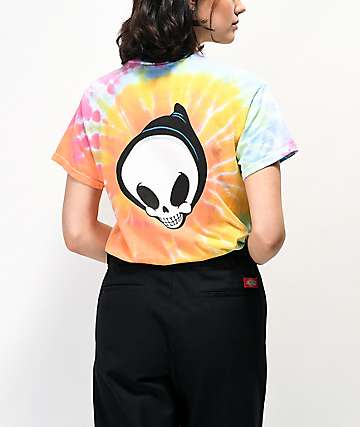 Blind Reaper Multicolor Tie Dye T-Shirt