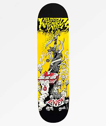 "Blood Wizard Given Battle Series 8.25"" Skateboard Deck"