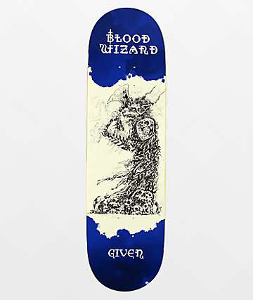 "Blood Wizard Given Occult Series 8.75"" Skateboard Deck"